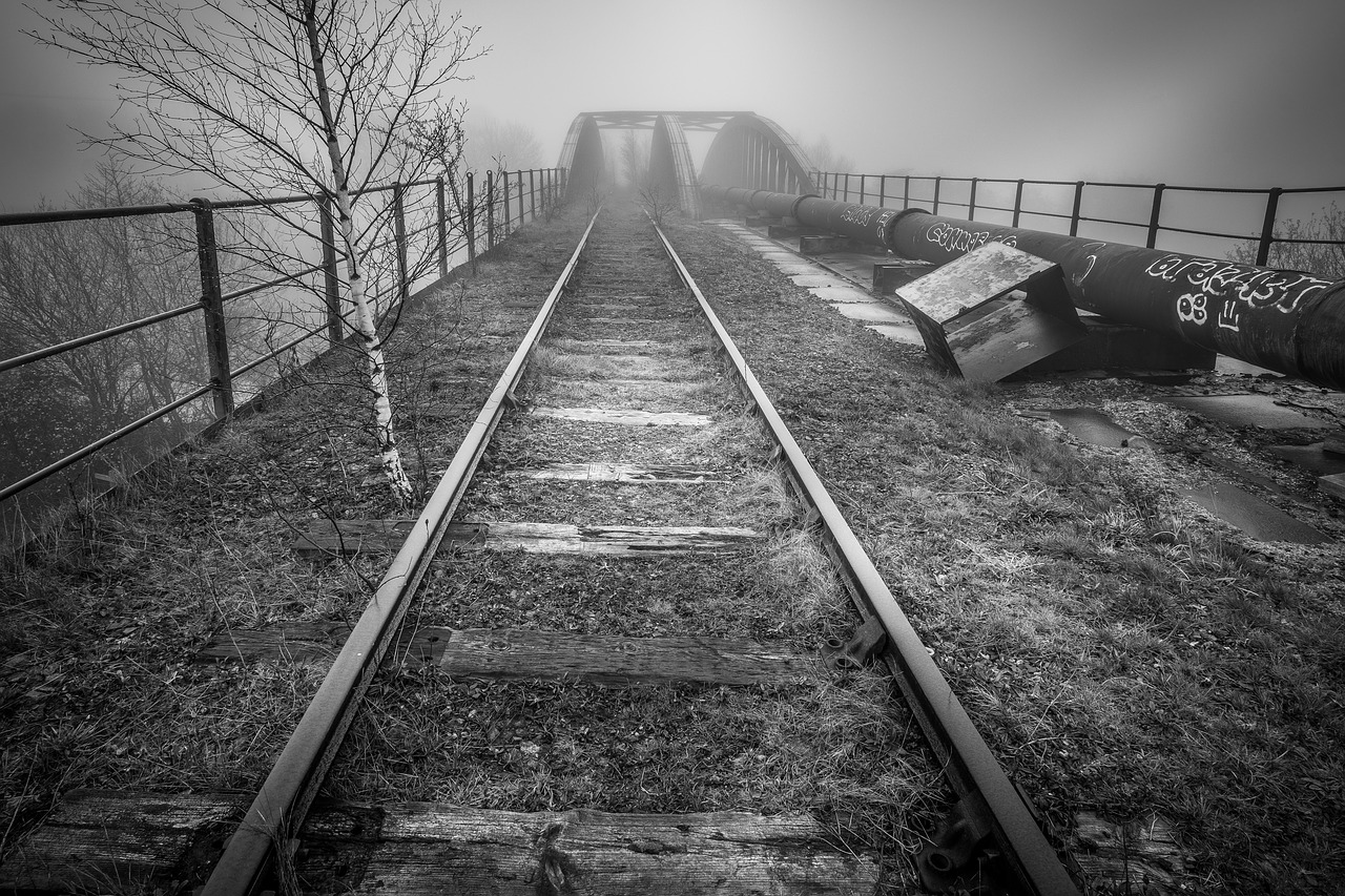 abandoned  railway  castleford free photo