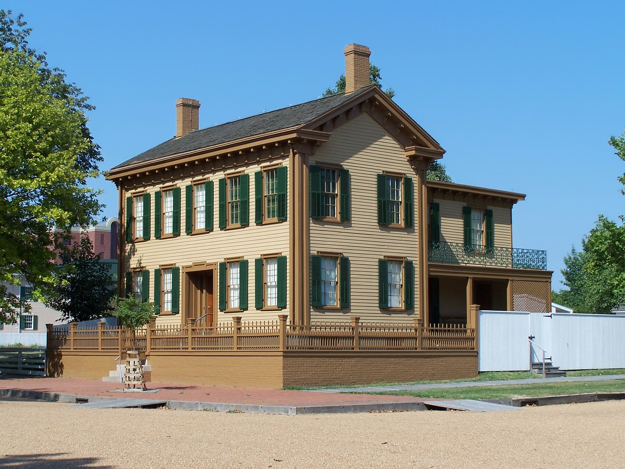 abraham lincoln house home free photo
