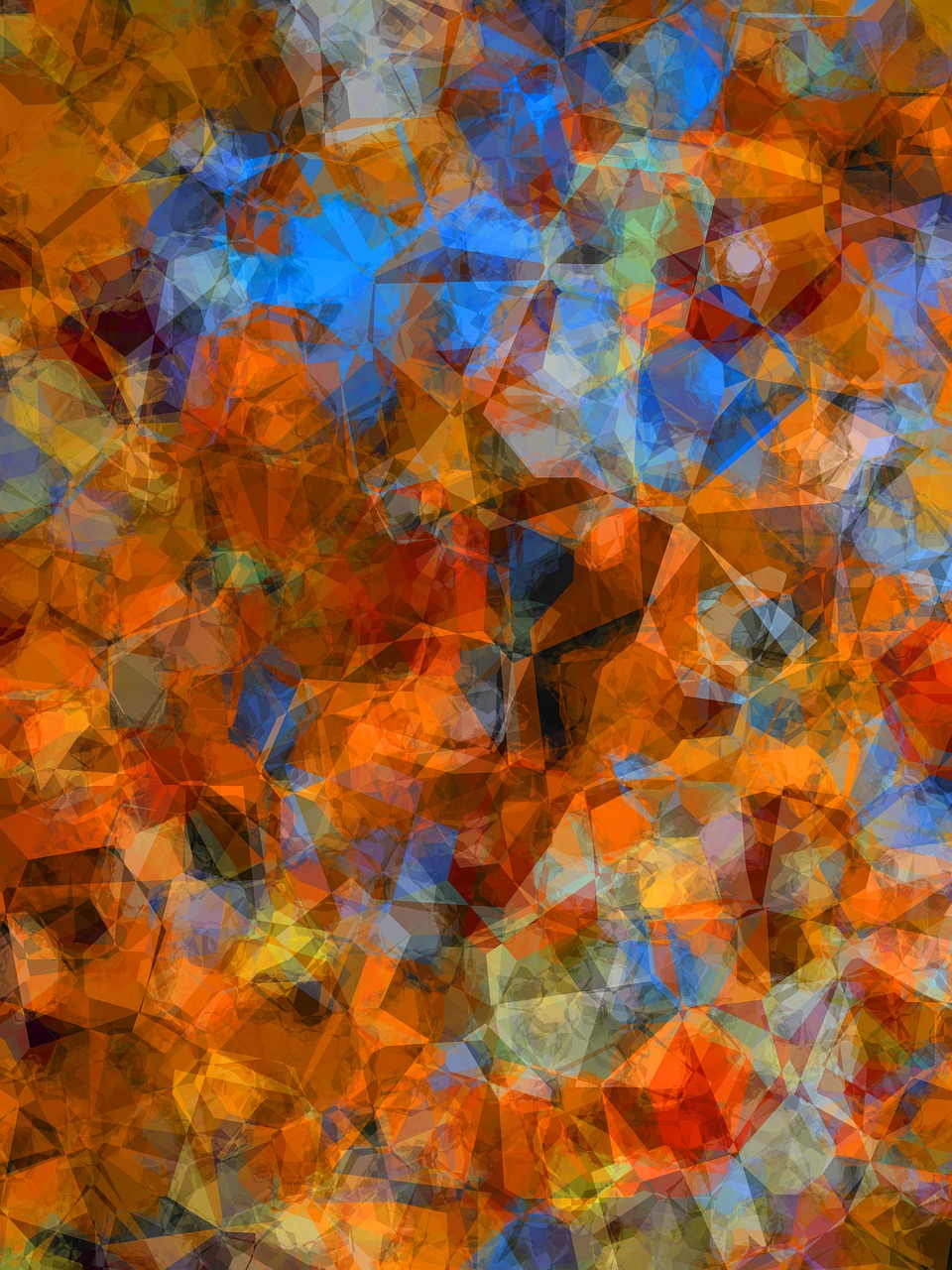 abstract artwork cubism free photo