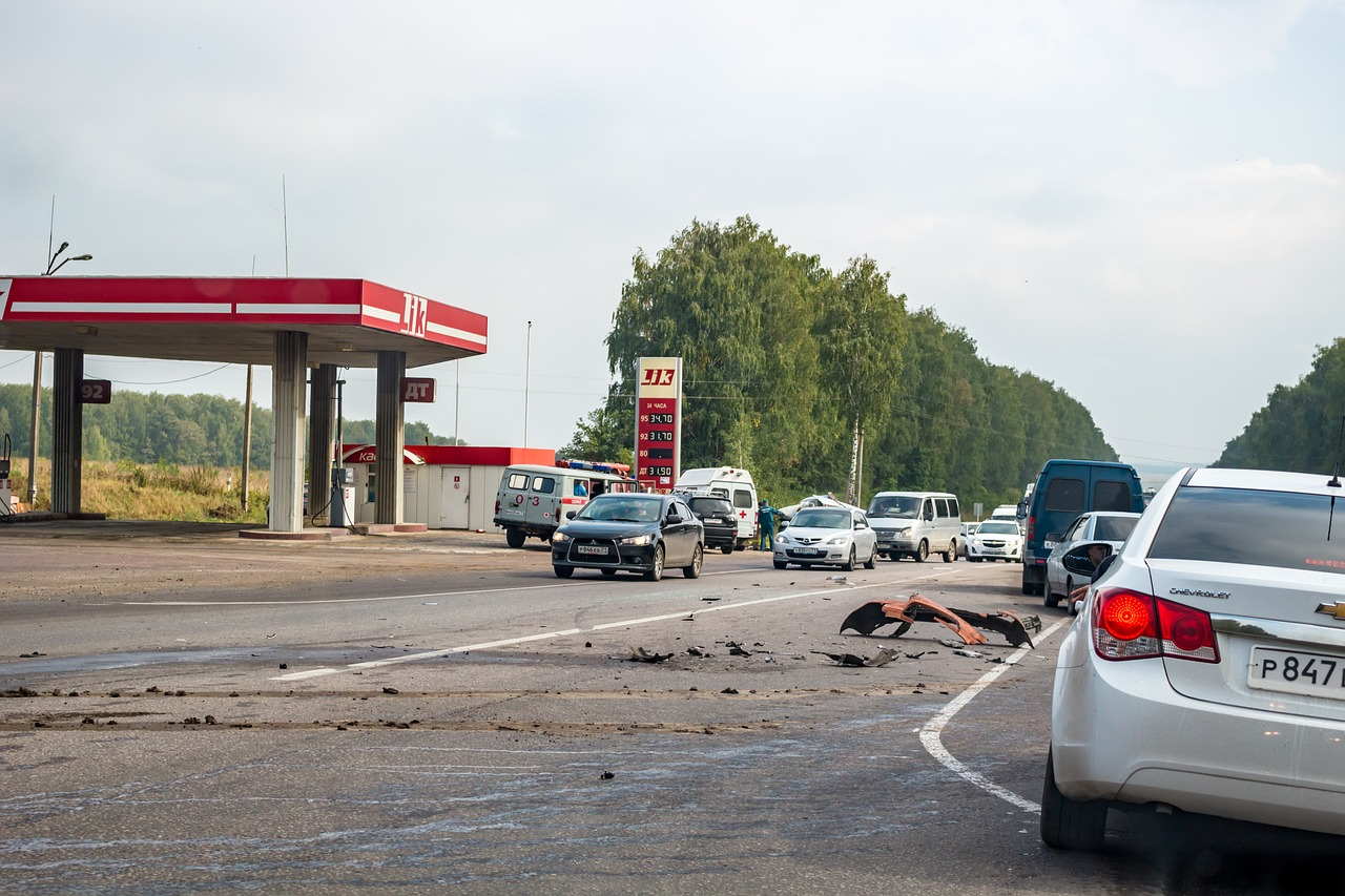 accident russia road free photo