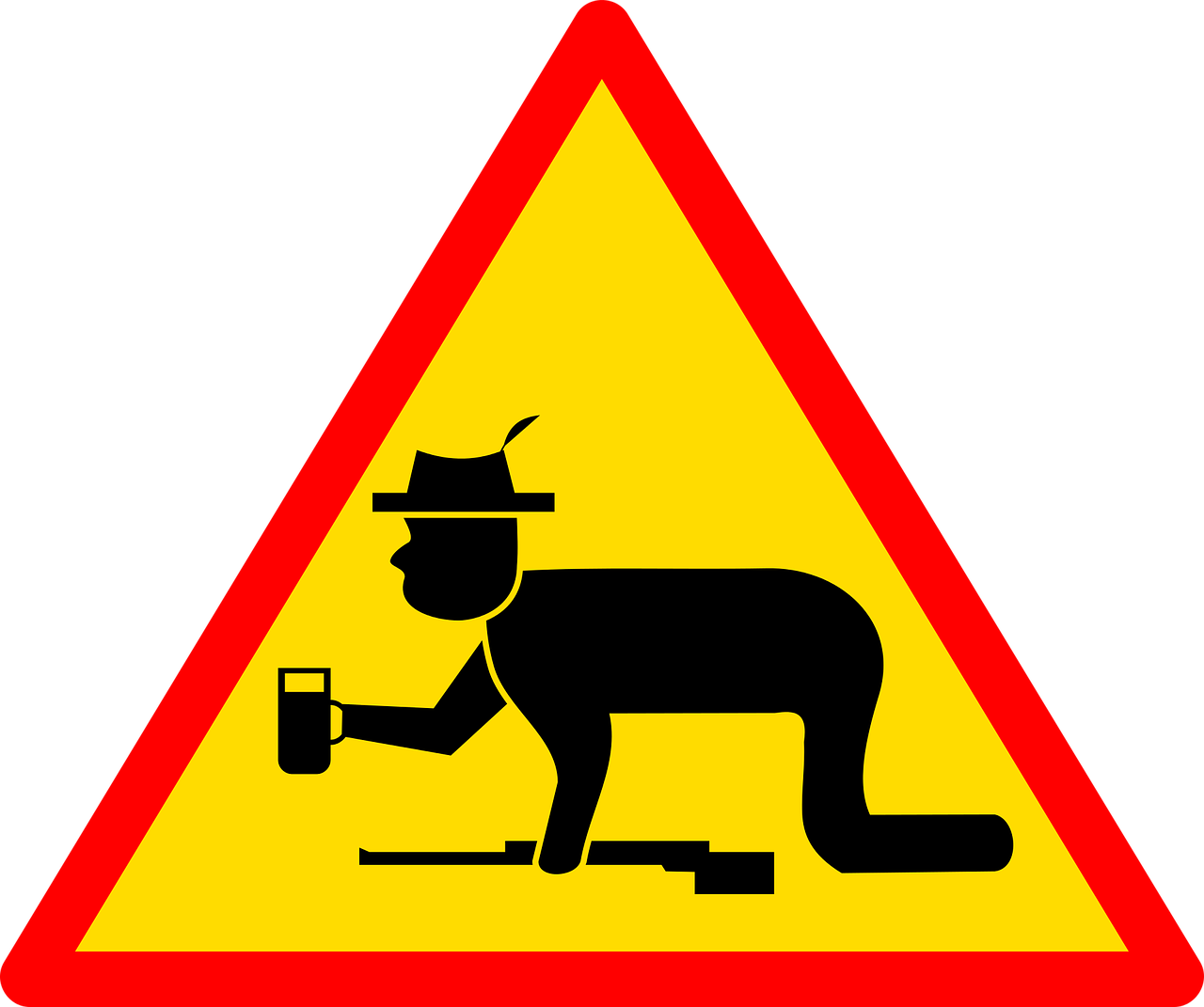 achtung schützenfest sign road free photo