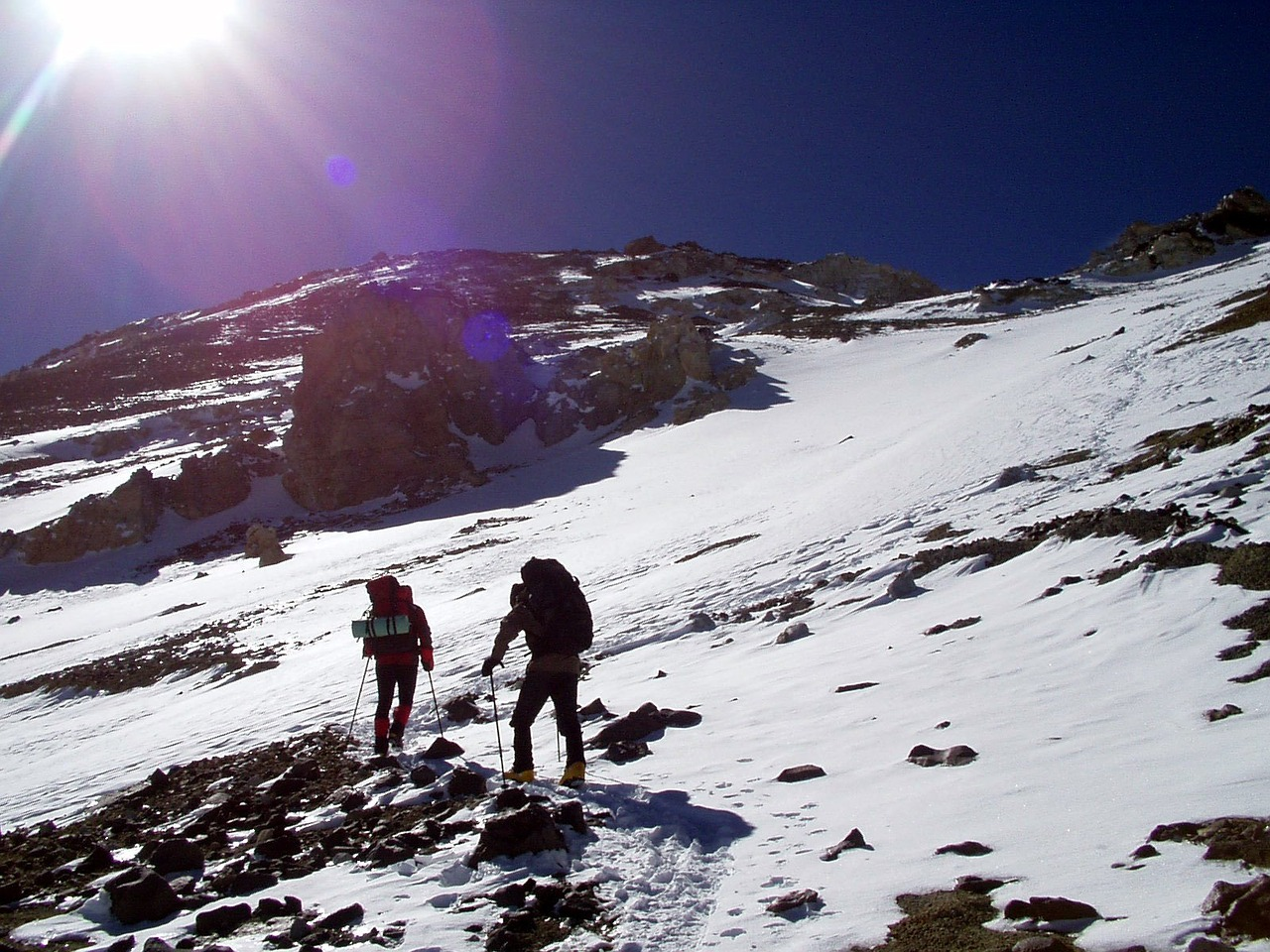 aconcagua expedition andes free picture