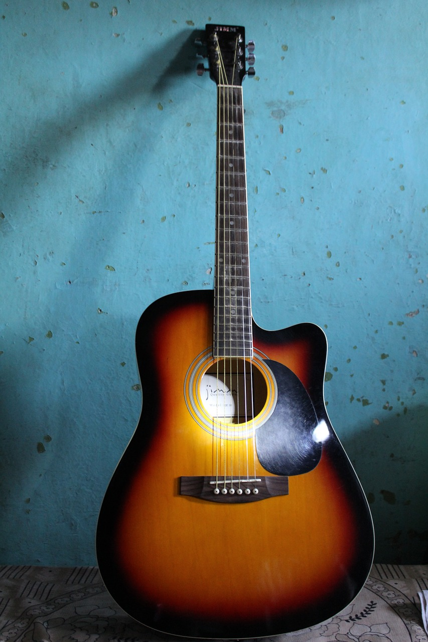 acoustic guitar guitar musical instrument free picture