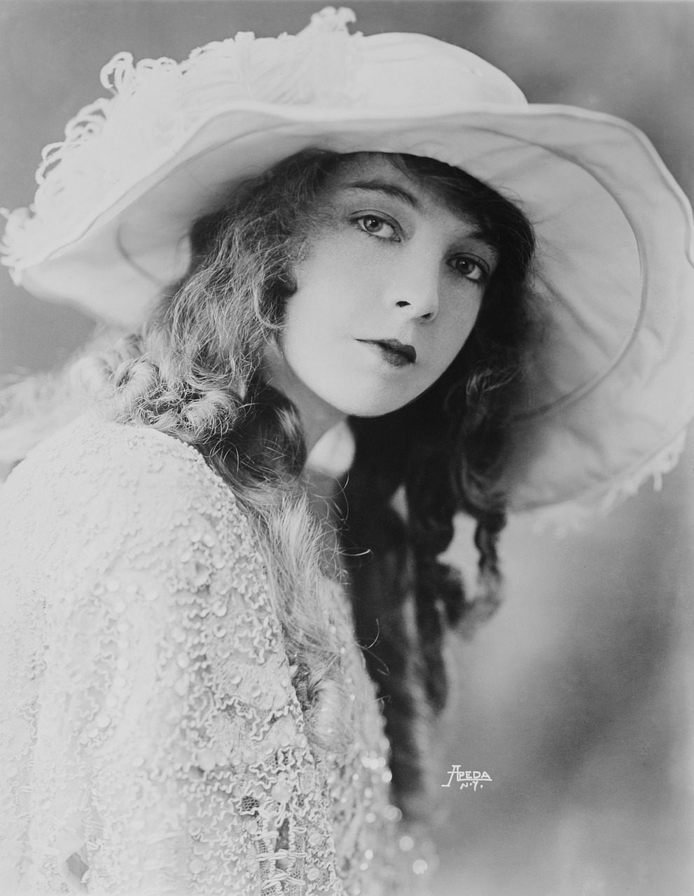 actress woman silent film free photo