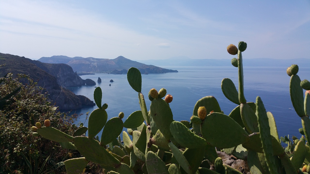 aeolian islands sea landscape free photo