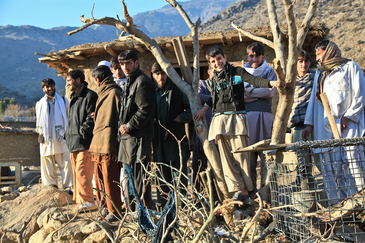afghani people group free photo