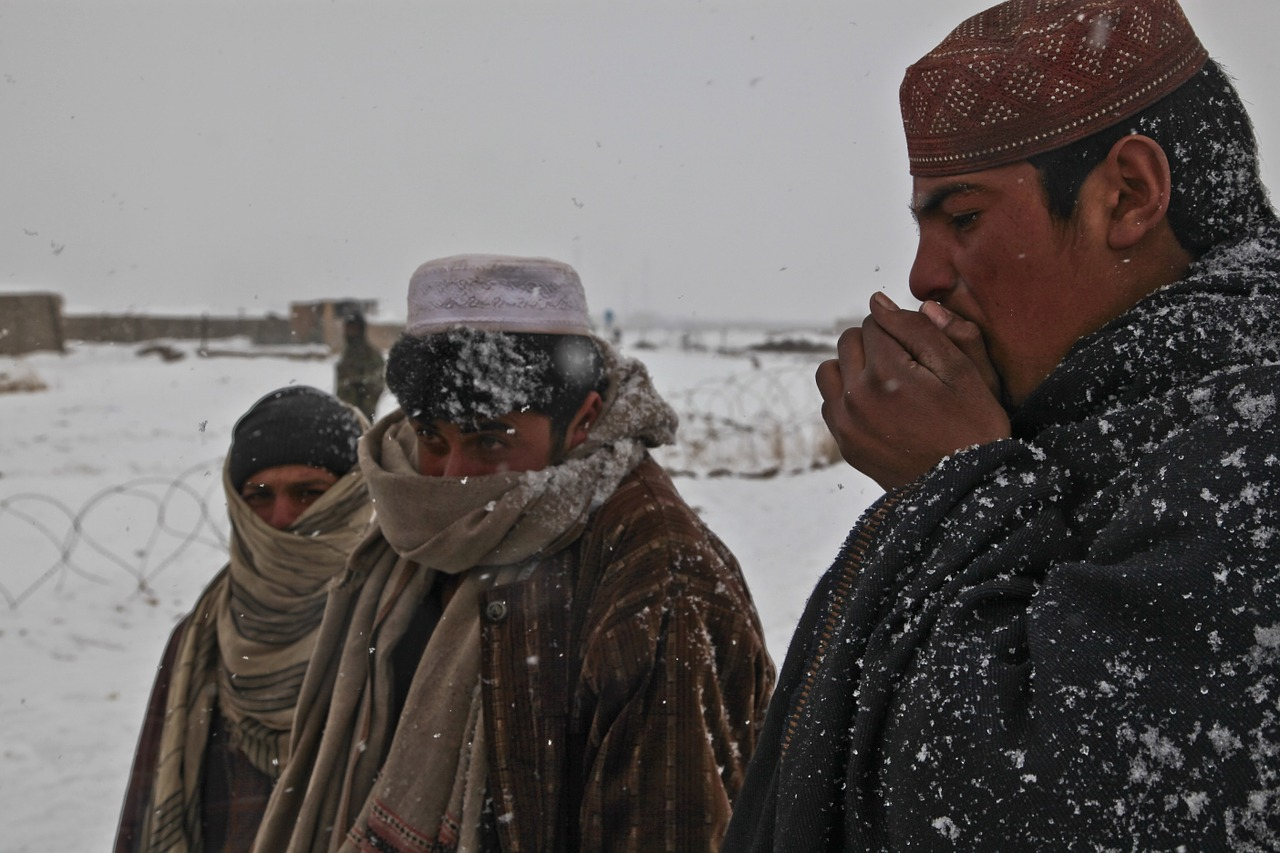 afghani people cold free photo