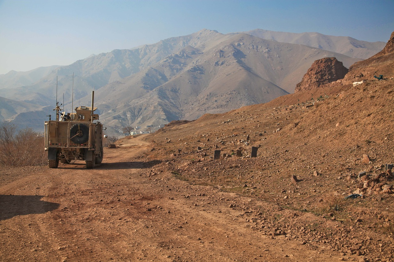 afghanistan humvee deployment free photo