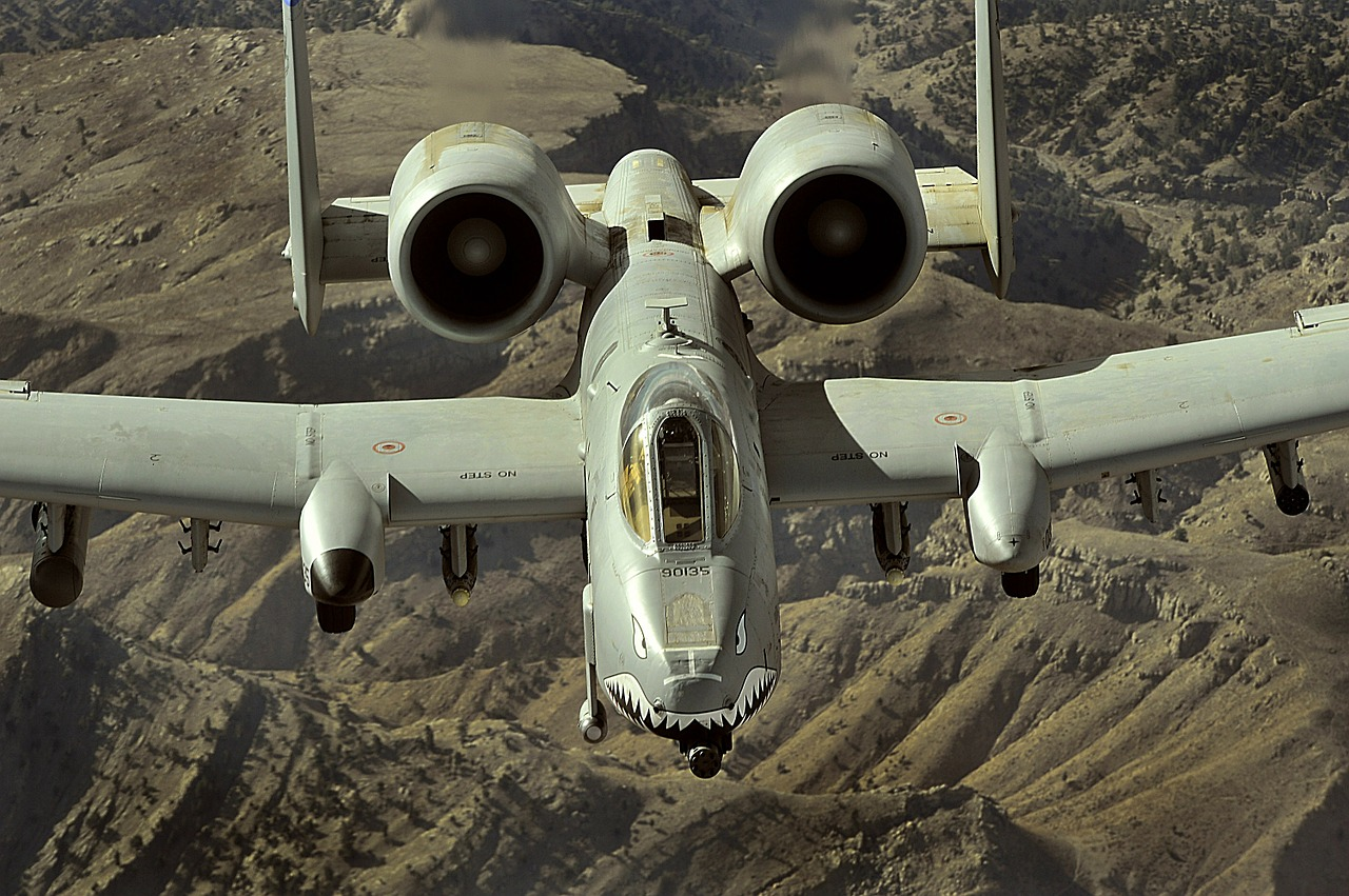 afghanistan a-10 thunderbolt ii jet free photo