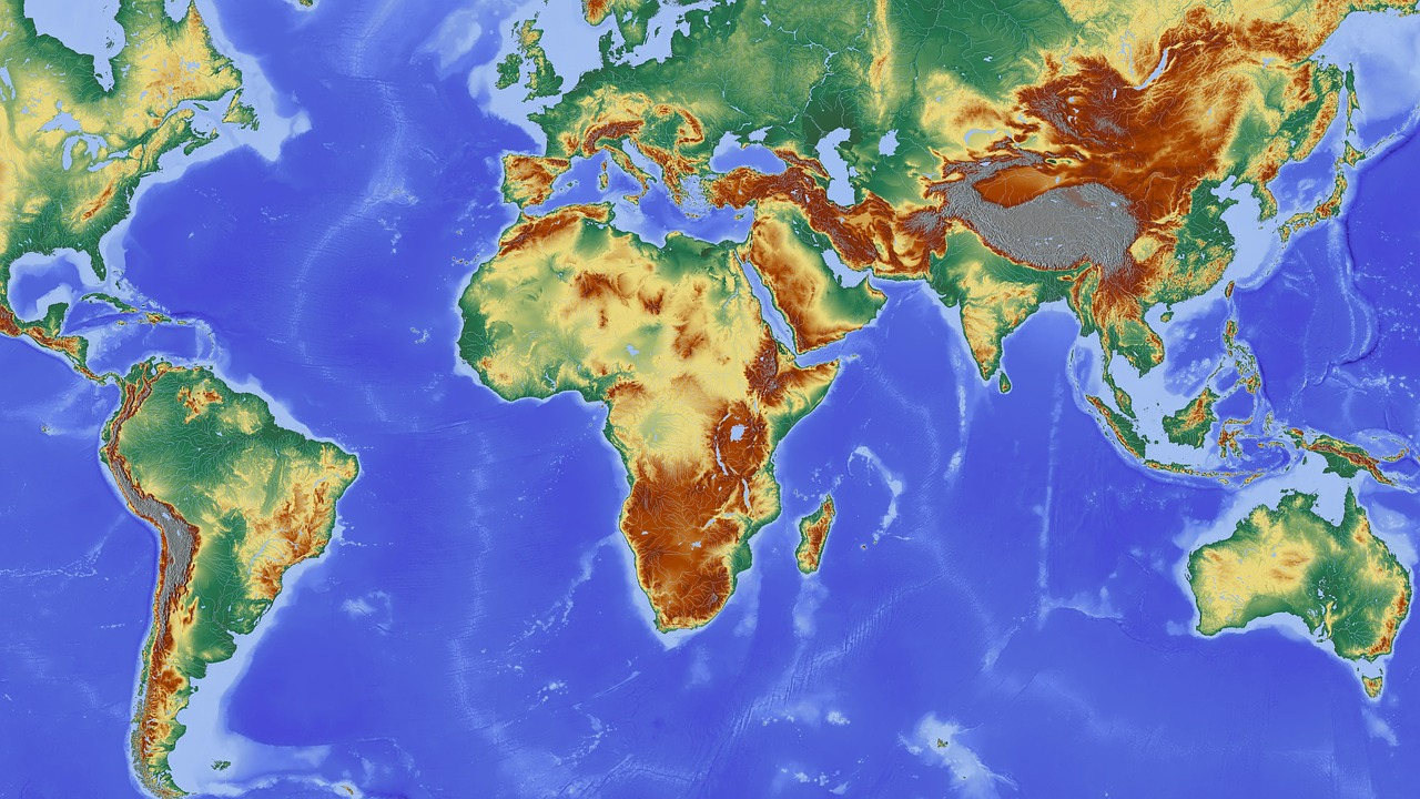Africa Map Continent South America Europe Free Photo From Needpix Com