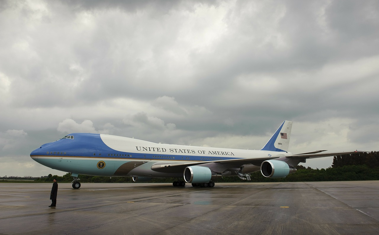 air force one president united states free photo