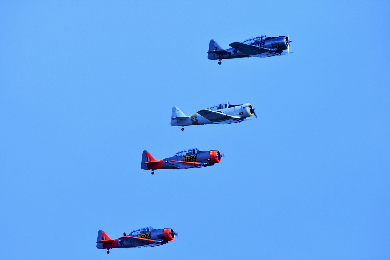 air show aircraft formation free picture