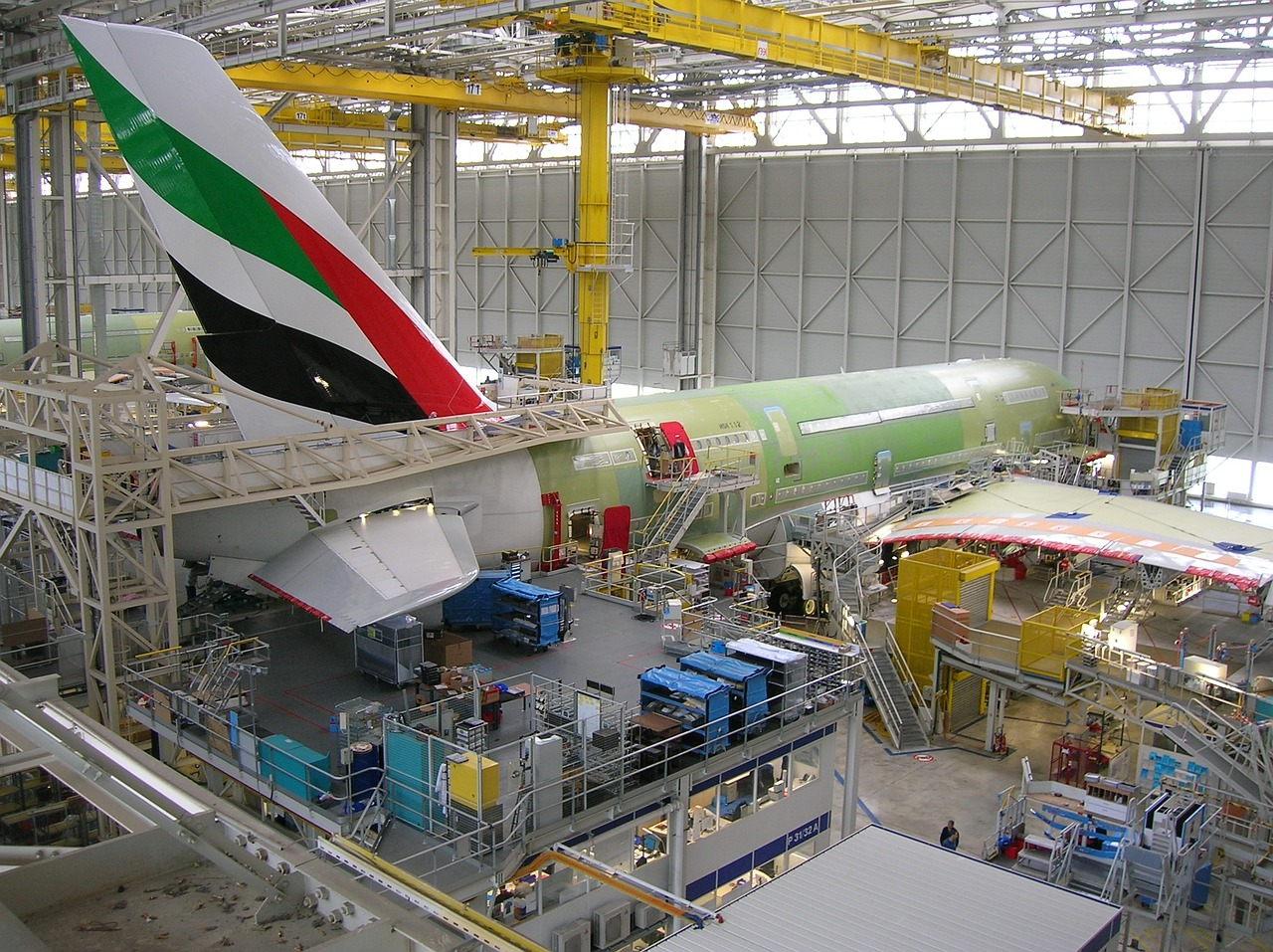 airbus production completion free photo