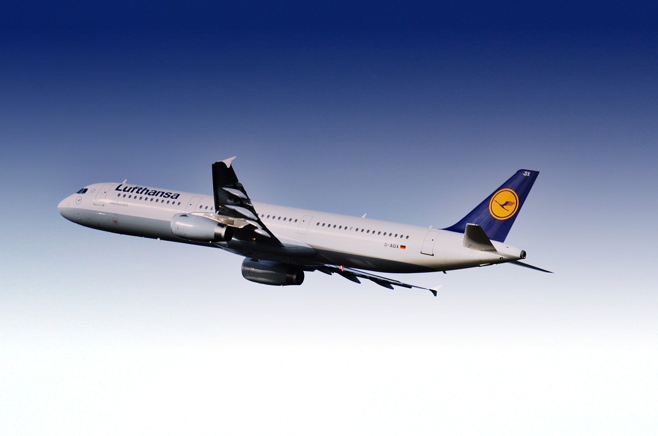 aircraft airport lufthansa free photo