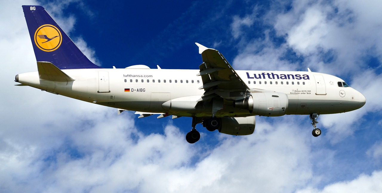 aircraft  lufthansa  d-aibg free photo