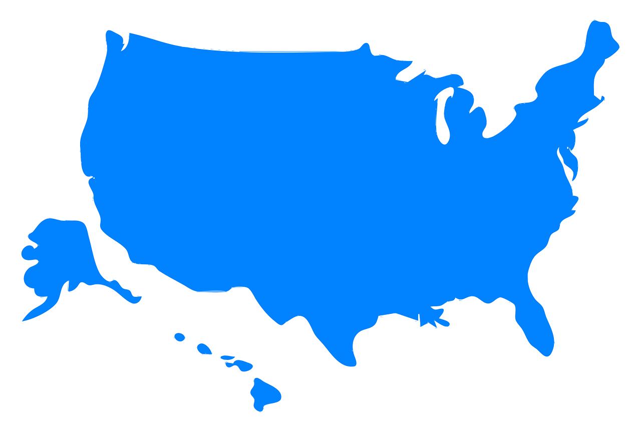 Alaska,alaska silhouette,hawaii,map silhouette,us - free ...
