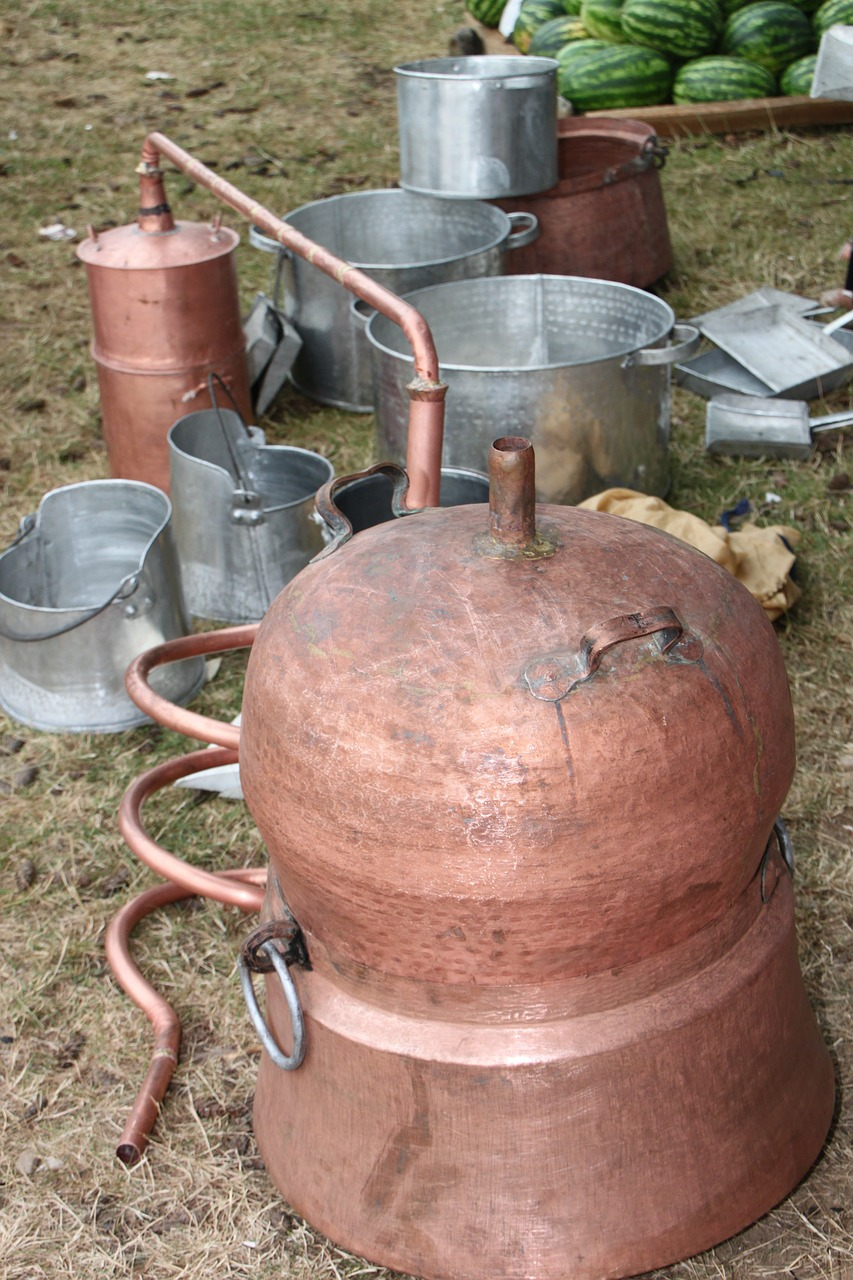 alcohol boiler brandy free photo