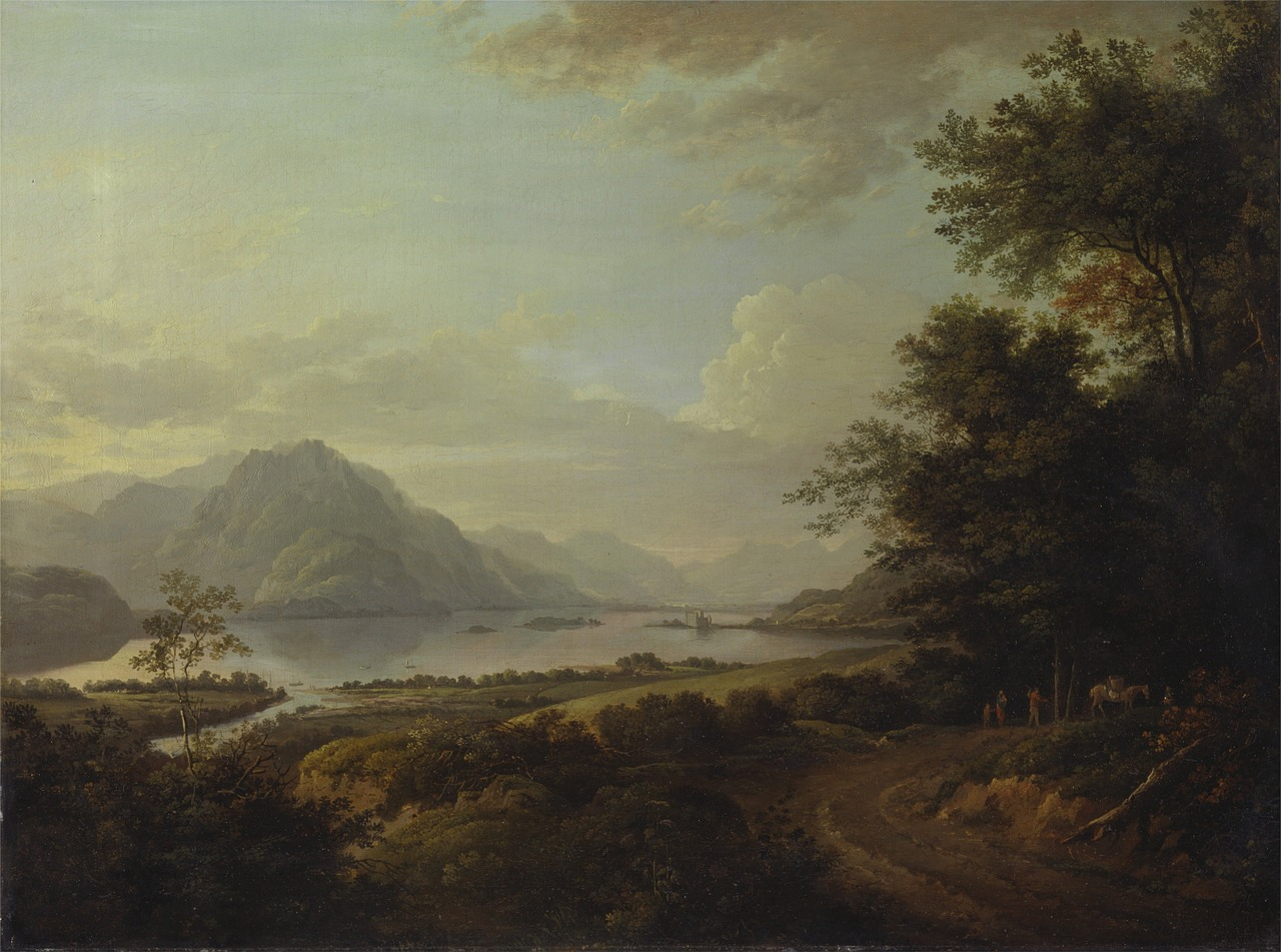 alexander nasmyth painting oil on canvas free photo