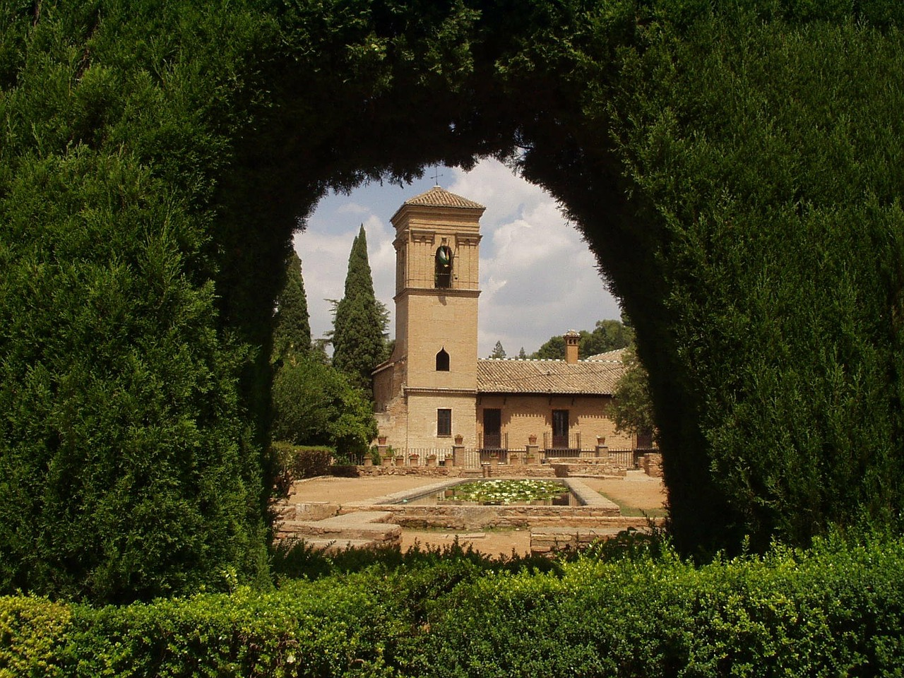 alhambra spain old free picture