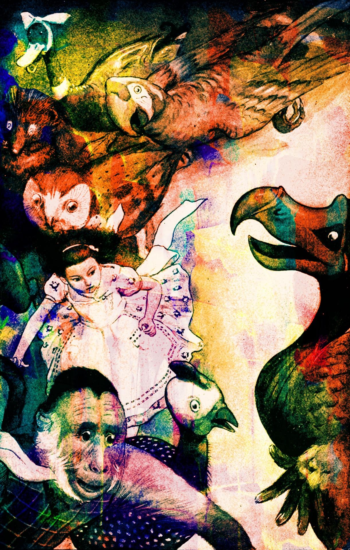 Vintagebook Illustrationalice Wonderlandold Fashionedvictorian