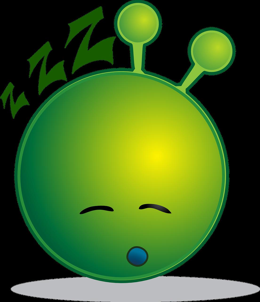 Alien,smiley,sleepy,emoji,emotions - free photo from needpix com