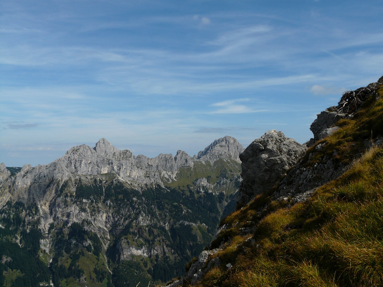 allgäu alps alpine mountains free photo