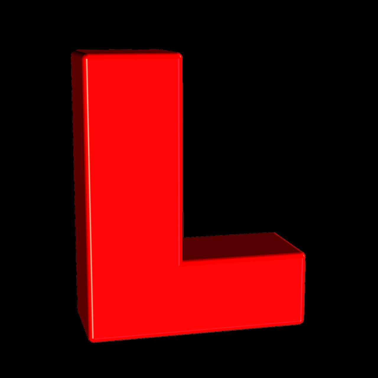 the letter l - 640×640