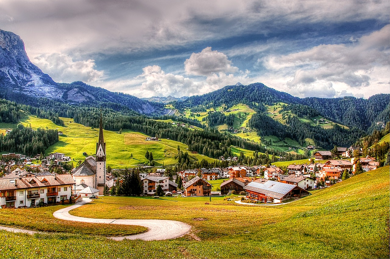 alta badia dolomites nature free photo