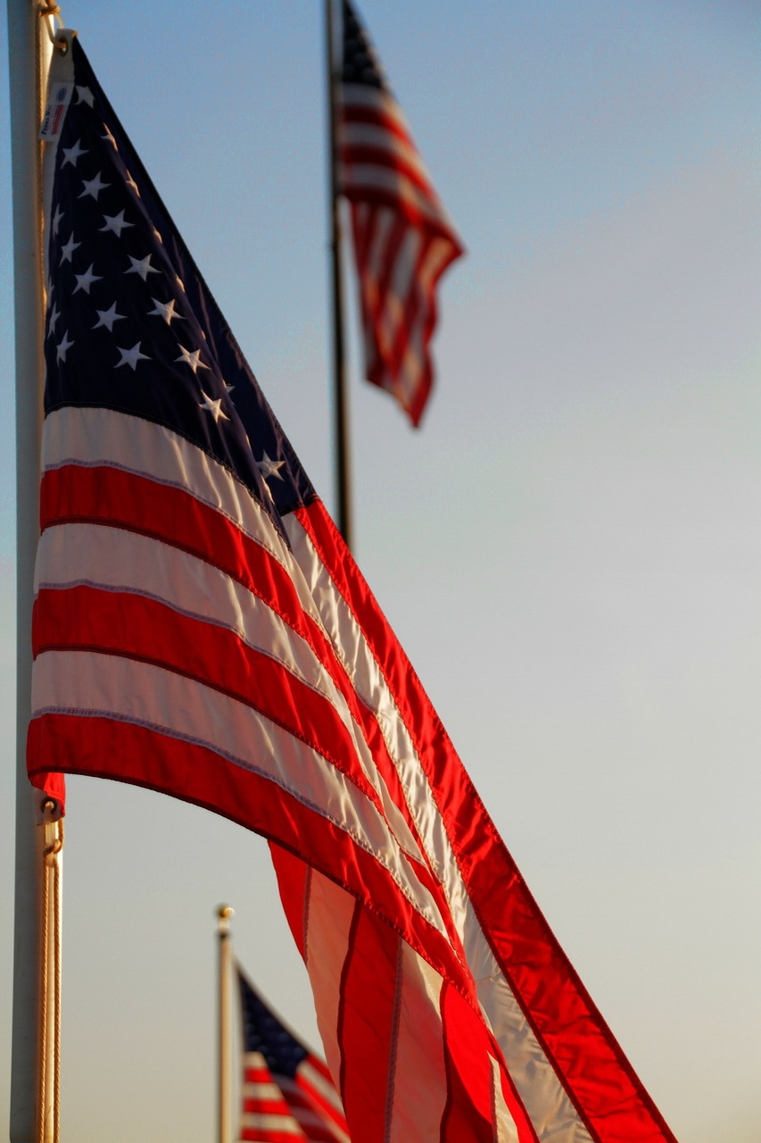 american flag us flag united states free photo