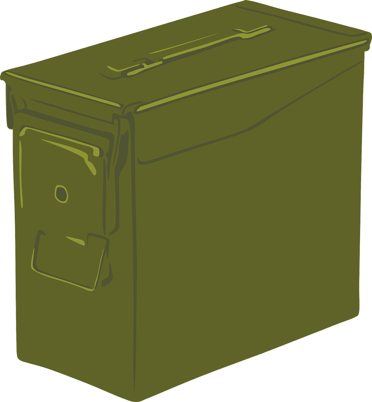 ammo can box container free photo
