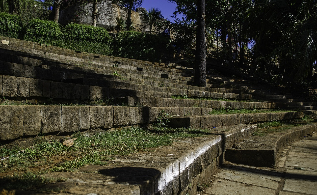 amphitheater steps stairs free picture