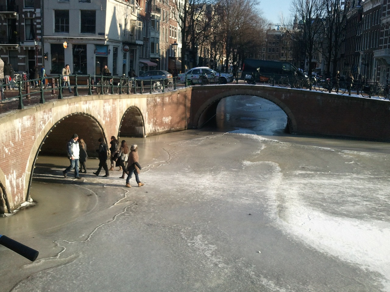 amsterdam,canal,winter,ice,canals,frozen,free pictures, free photos, free images, royalty free, free illustrations