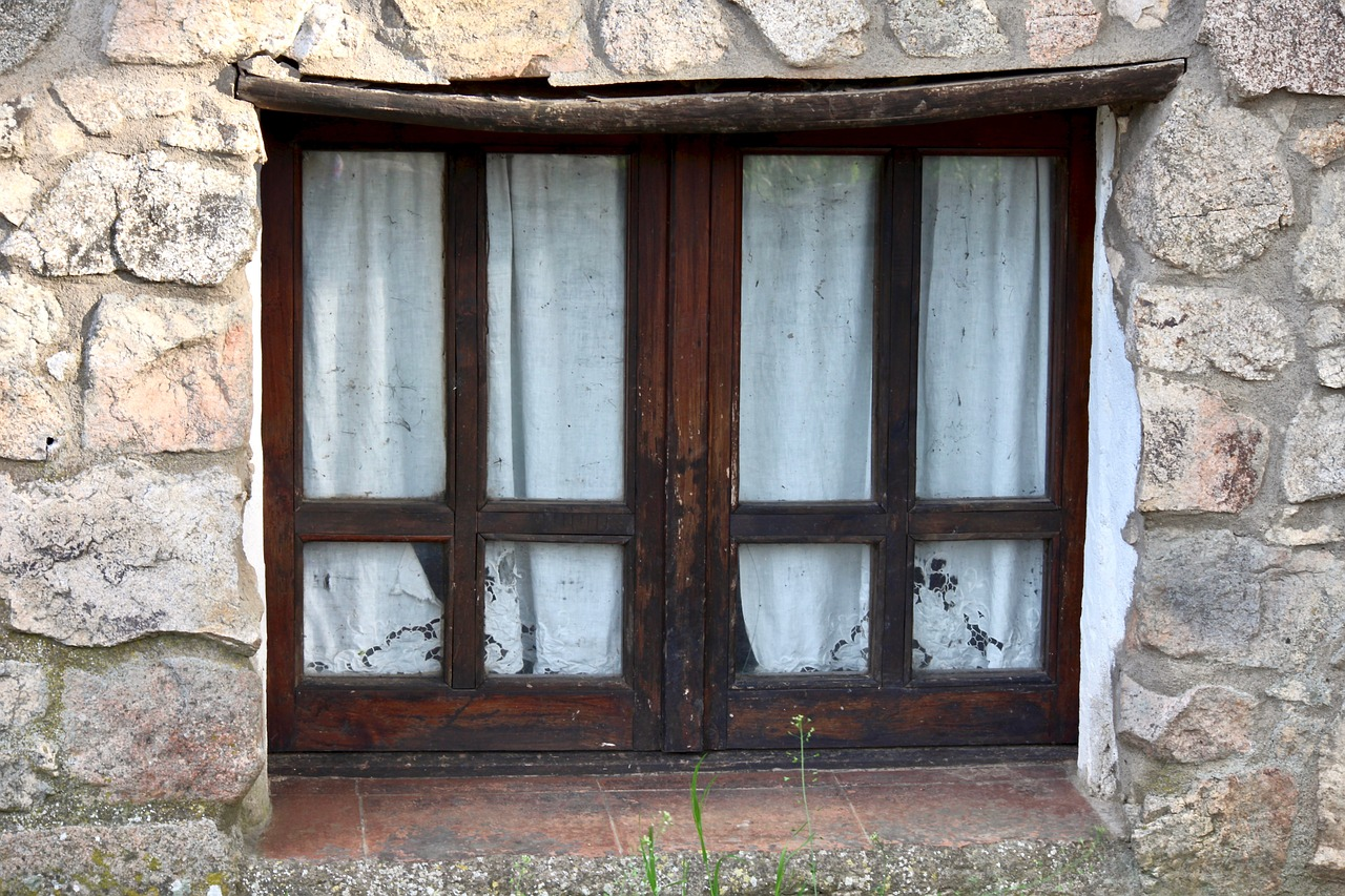 ancient  window  house free photo
