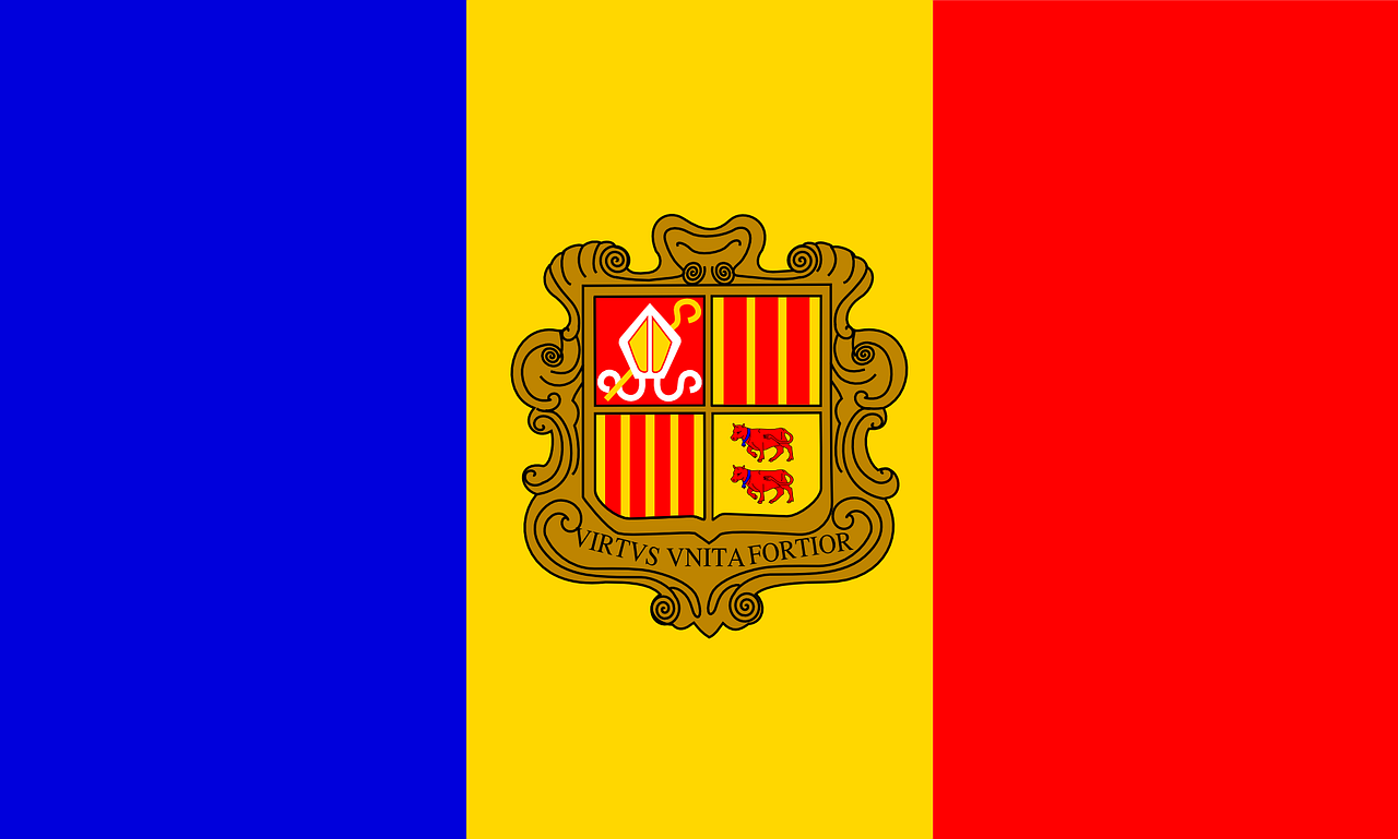 andorra flag symbol free photo