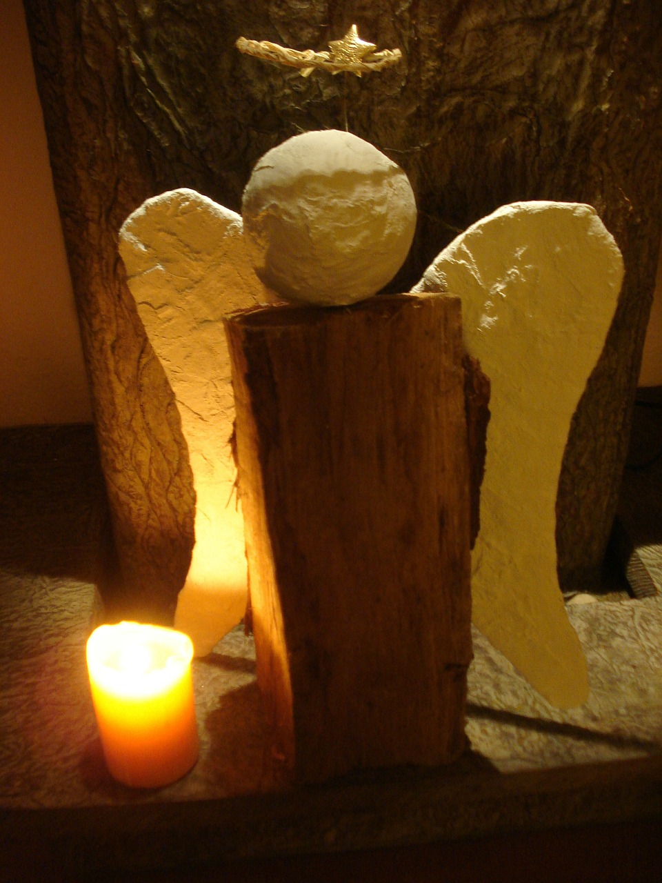 angel mourning hope free photo