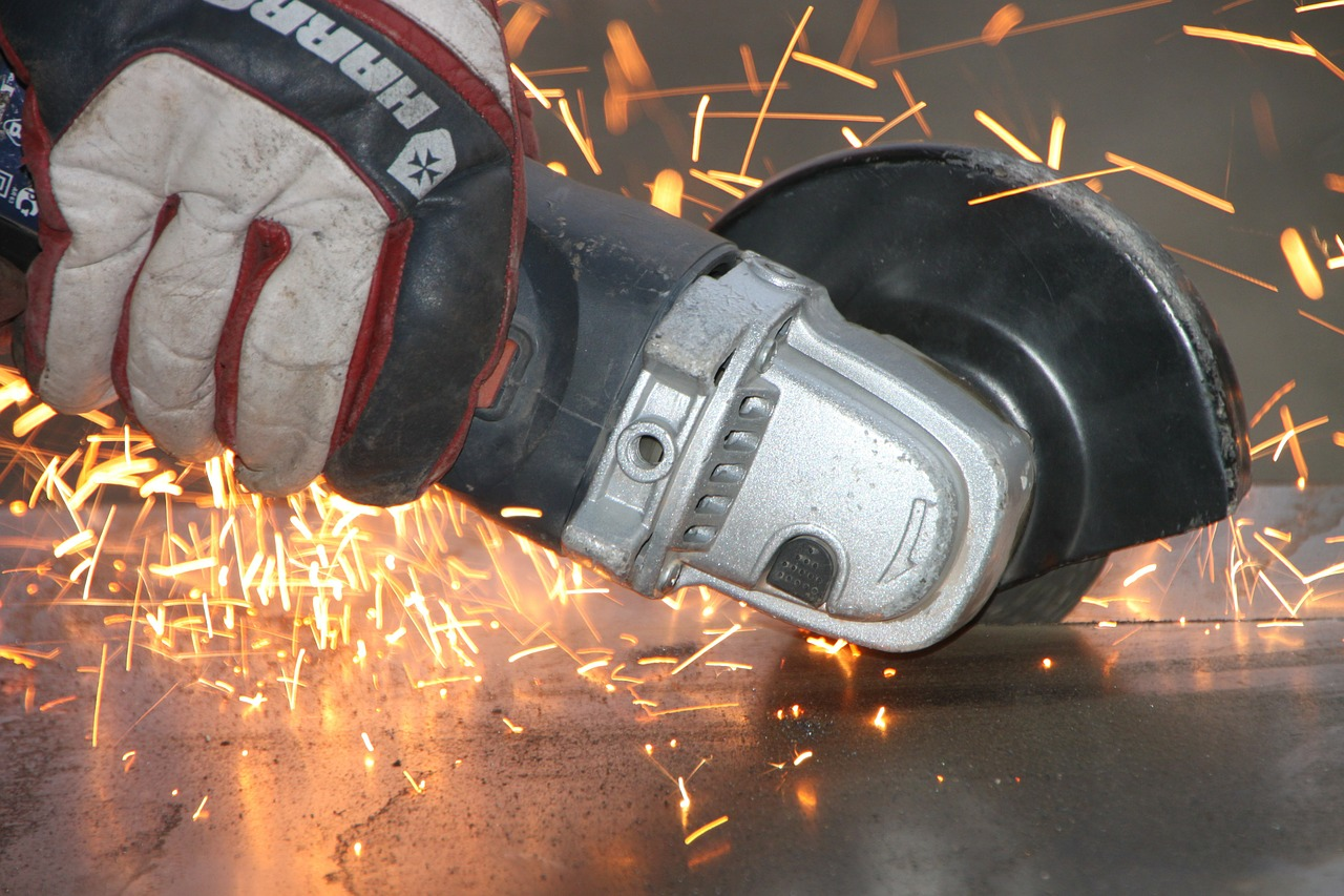 angle cutting grinder free photo