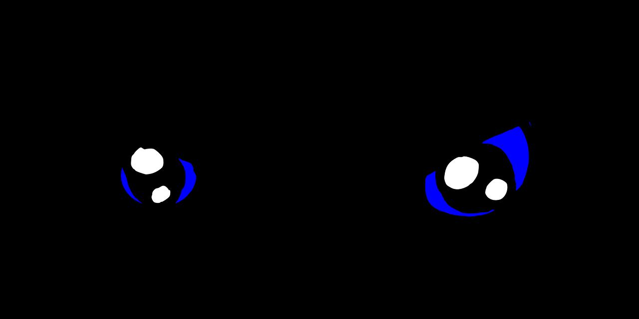 evil cartoon eyes - HD2400×1041