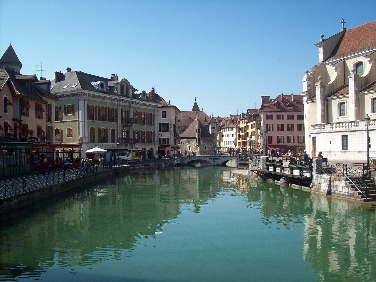 annecy france city free photo