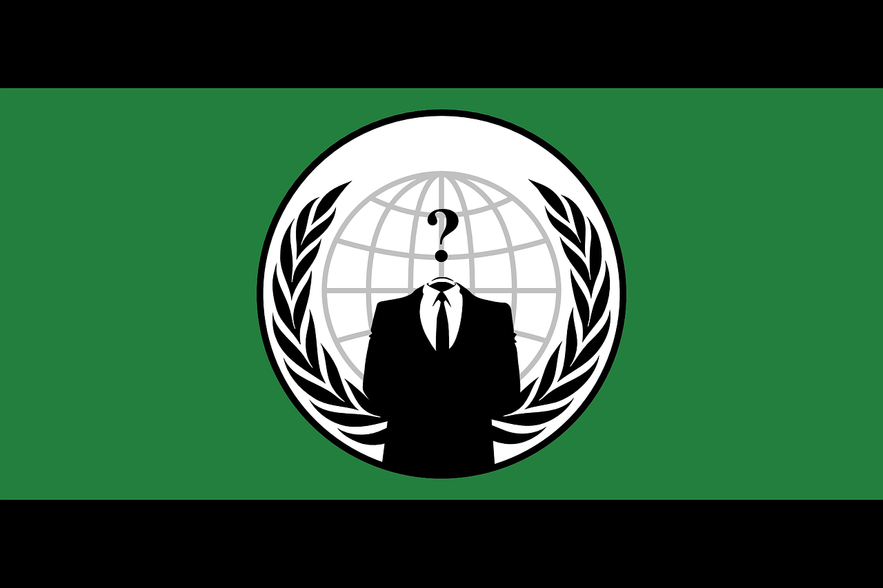 anonymous flag human free photo