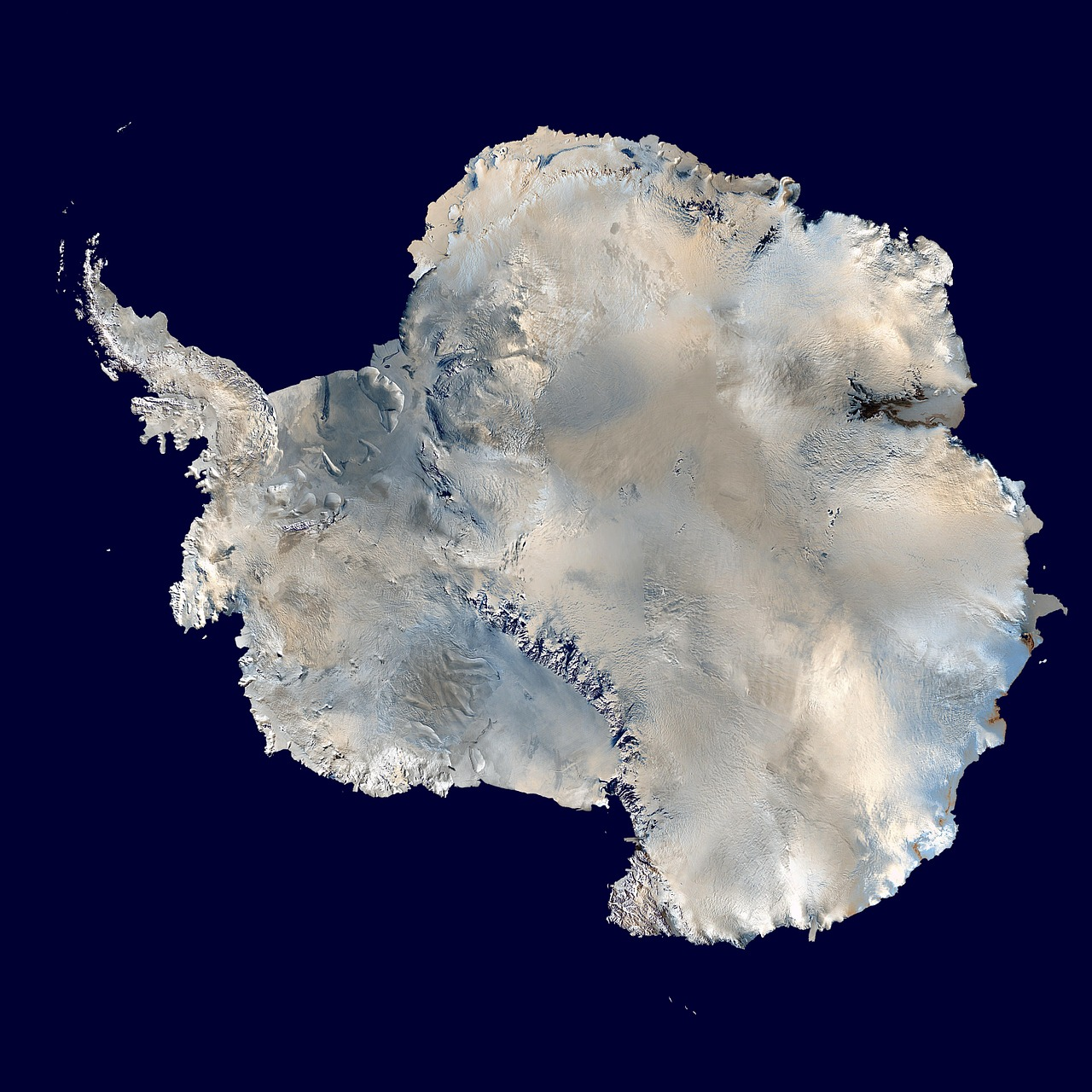 antarctica south pole continent free photo