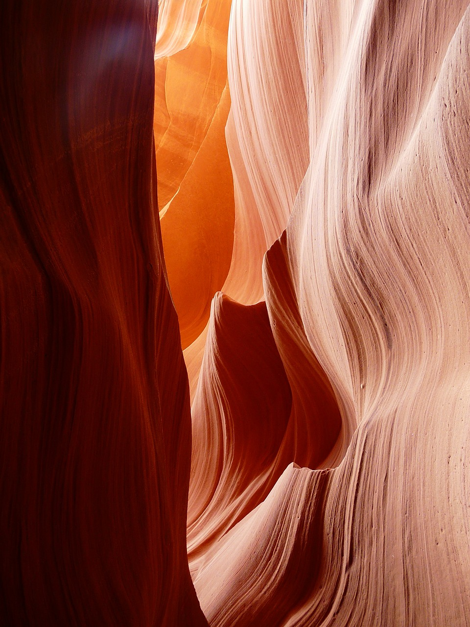 antelope canyon page sand stone free photo