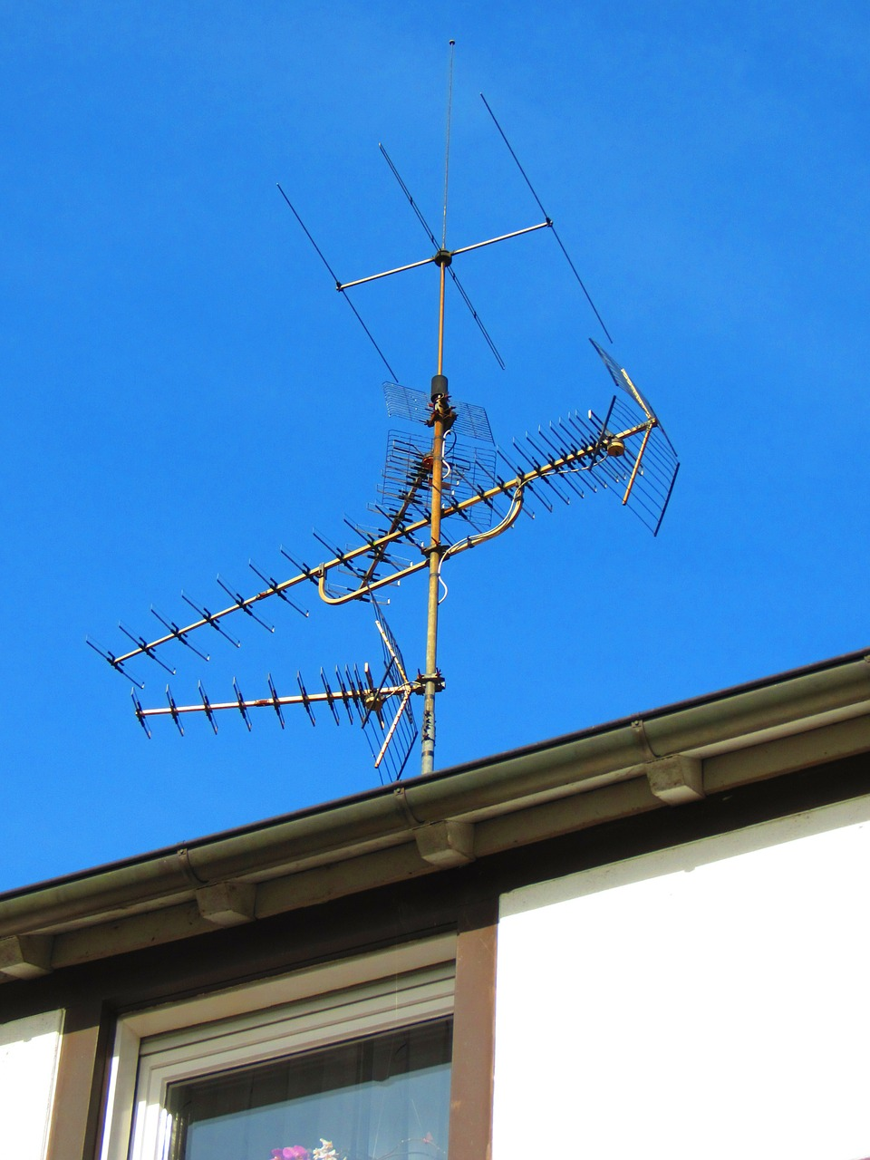 antenna roof antenna watch tv free photo