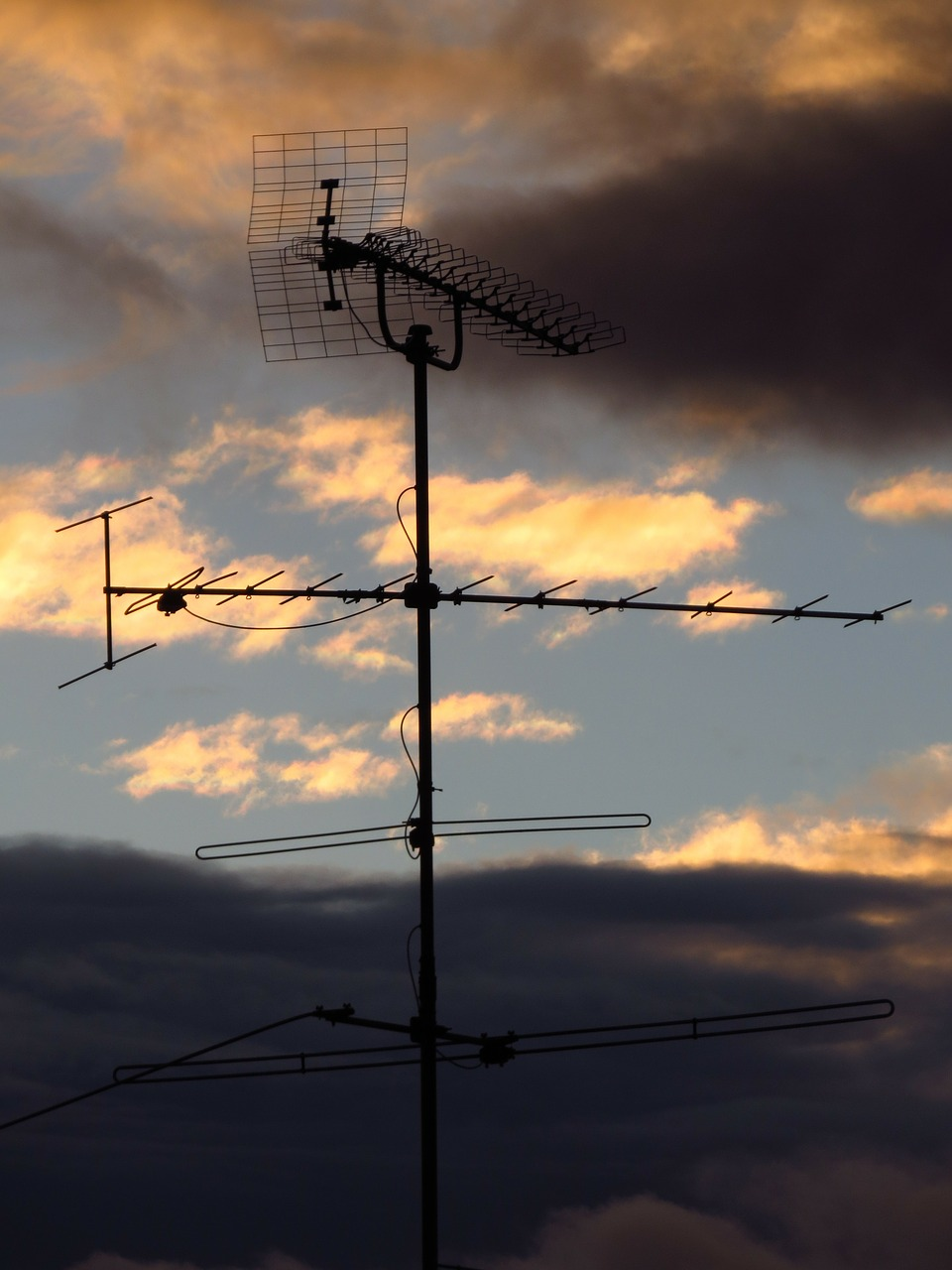 antenna watch tv radio free photo