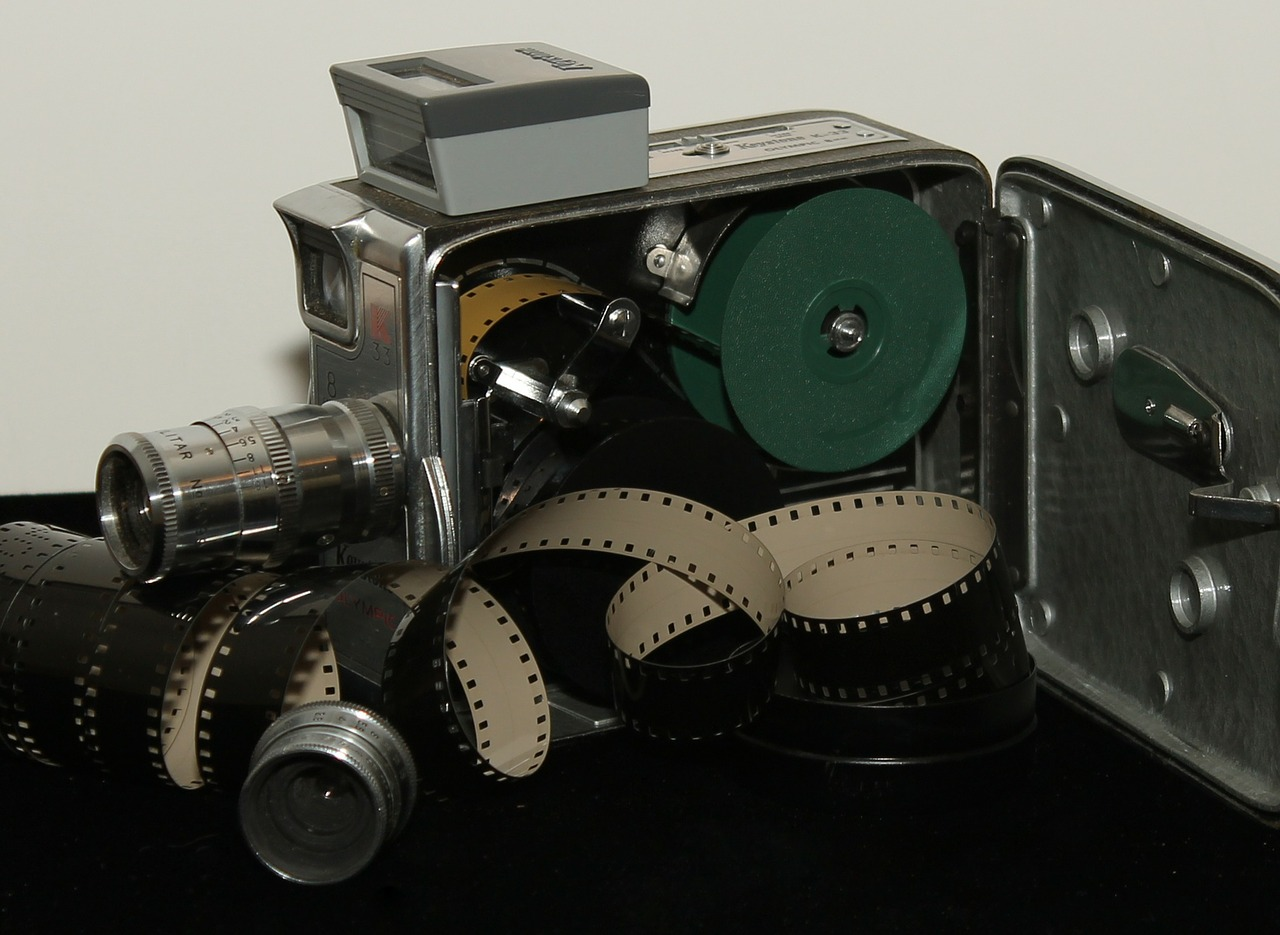 antique camera film free photo