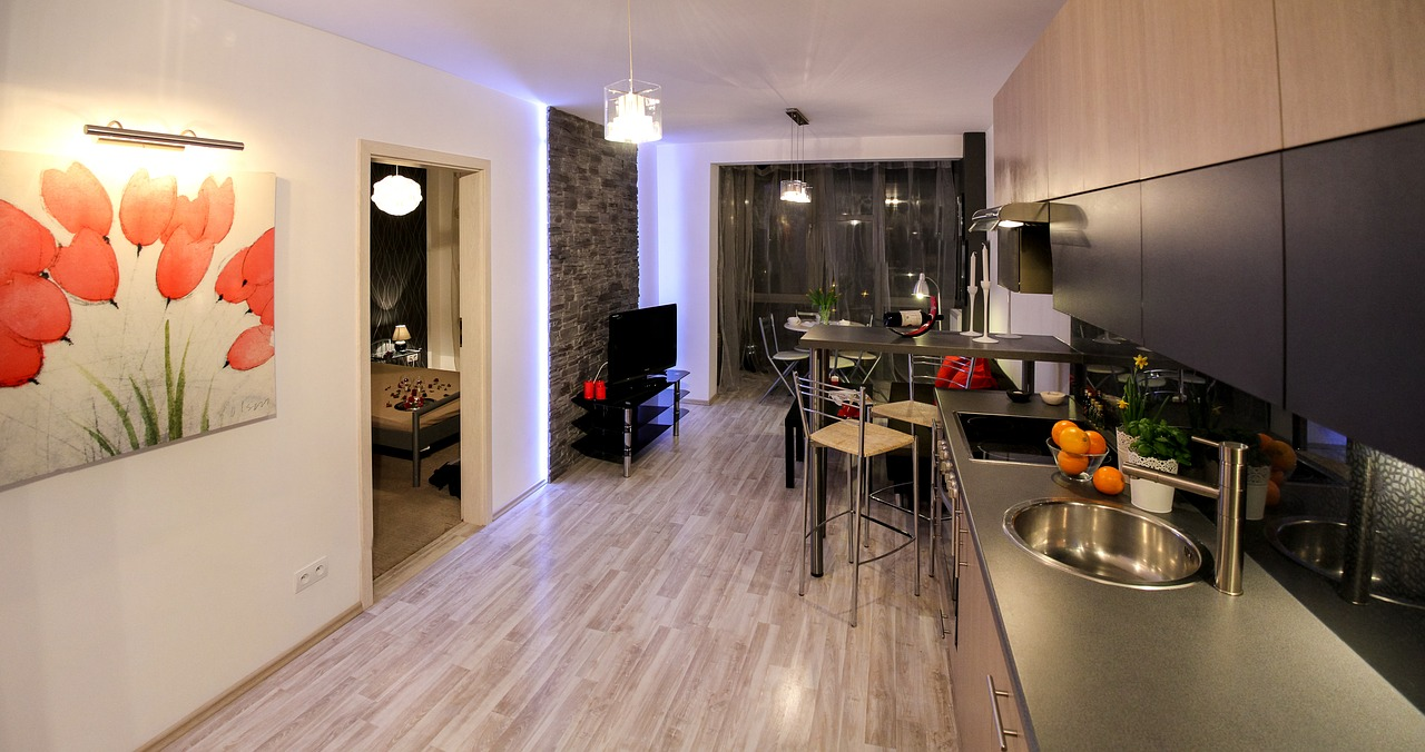 apartment room house free photo