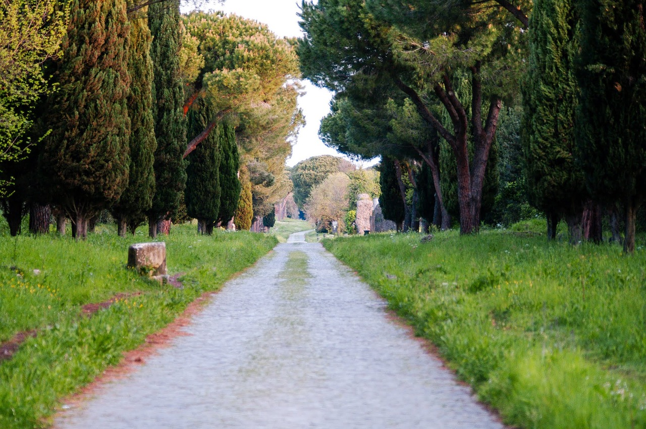 appia antica rome roman free photo