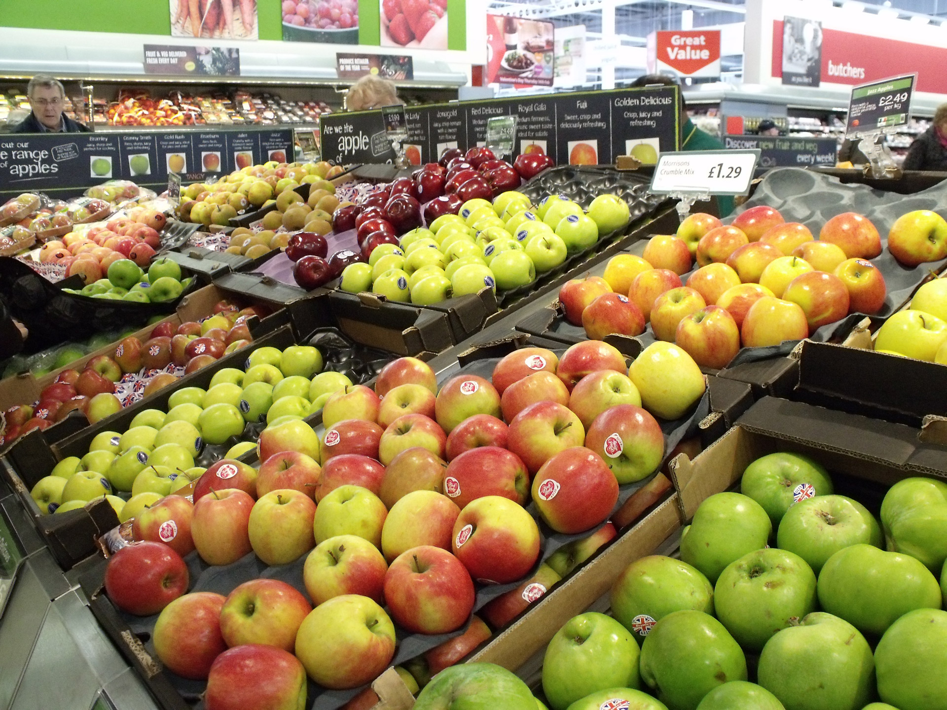 Different apples,apples supermarket,apples in supermarket,free pictures,  free photos - free image from needpix.com