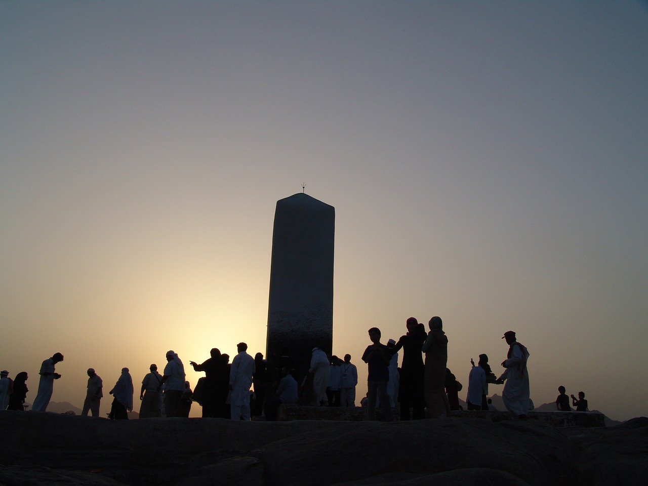 arafat the mountain of mercy mecca free photo