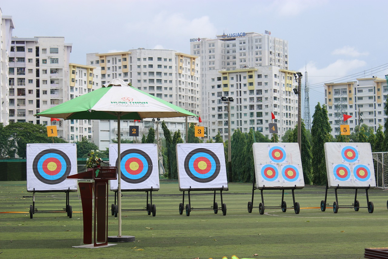 archery  beer archery  ho chi minh city free photo