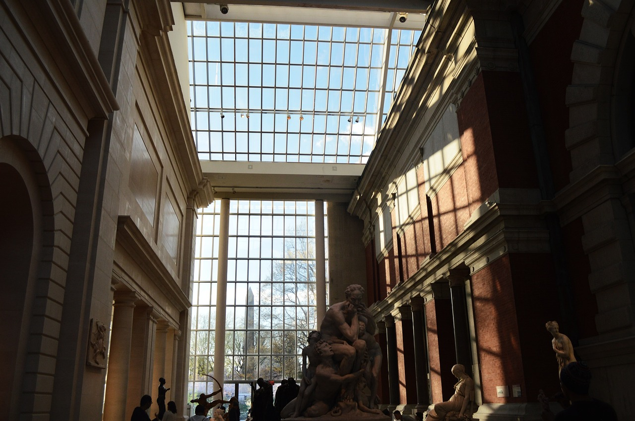 architecture museum art free photo